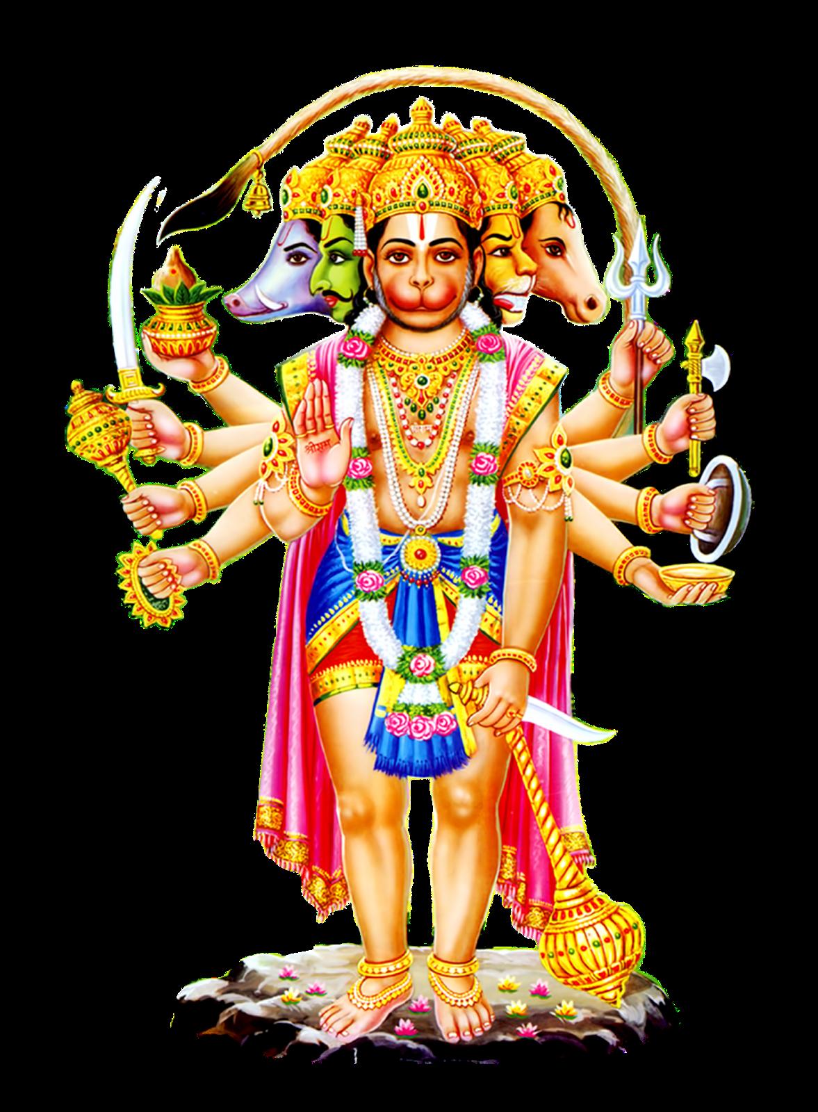 About the temple char dham hindu temple the woodlands tx usa - Panchmukhi hanuman image ...